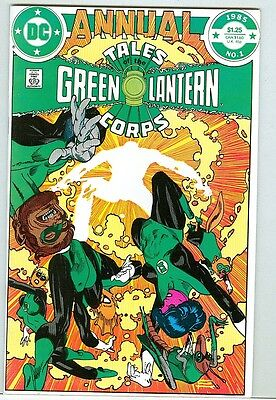 Tales of the Green Lantern Corps Annual #1 NM- 1985