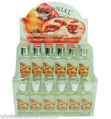 Wholesale Joblot Of 24 Colonial Pomegranate Scented Refresher Oils