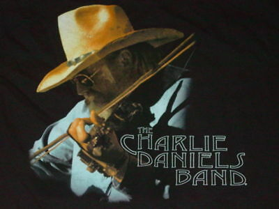 CHARLIE DANIELS BAND Country Music T-Shirt  NEW  SMALL