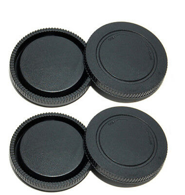 Lens Rear Cap and Body Cap for Sony E-Mount NEX-C3 NEX-5N NEX-7 NEX-VG20