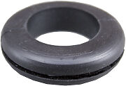 """12mm 1/2"""" Black Rubber Wiring Grommet Grommets Cable Open Hole Electrical x 5"""