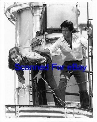 STEPHANIE ZIMBALIST, PIERCE BROSNAN TV Photo REMINGTON