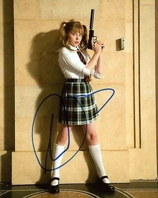 Chloe Moretz Signed 8x10 Kick-Ass Wendy Macready Hit Girl Photograph