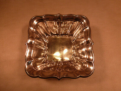 """Reed & Barton Sterling Silver (.925) 'Windsor' 4.5"""" Square Bowl"""