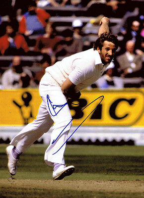 SIR IAN BOTHAM Signed in Person Autograph England Cricket 16x12 Photo AFTAL COA