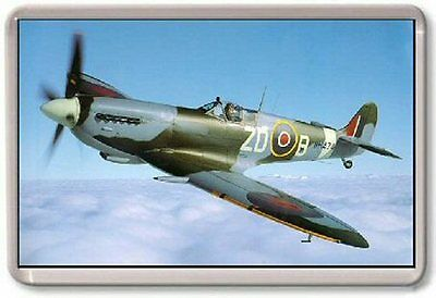 Spitfire RAF Fridge Magnet  WW2