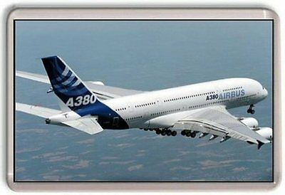 Airbus A380 Fridge Magnet 01