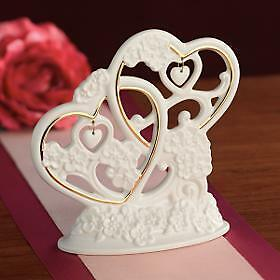 Lenox Floating Hearts Wedding Or Anniversary Cake Topper New In Box