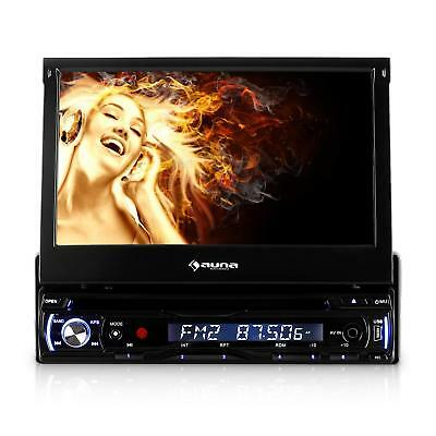 DELUXE AUTORADIO CAR HIFI DVD PLAYER MONICEIVER 18cm TOUCH DISPLAY CD MP3 MP4 SD