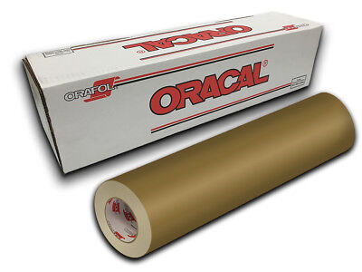 """24"""" X 10ft - Gold Oracal 651 Intermediate Graphic & Sign Cutting Vinyl"""