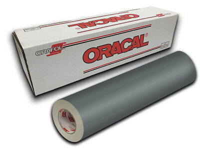"24"" X 10ft - Gray Oracal 651 Intermediate Graphic & Sign Cutting Vinyl"