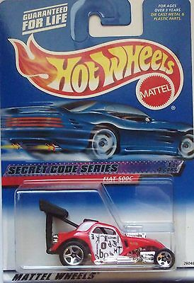 2000 Hot Wheels ~Secret Code~ Fiat 500C 1/4 (Malaysia Base)
