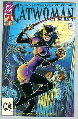 Catwoman #1 NM- August 1993 Embossed Cover
