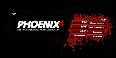 NEW Phoenix 4 Live Professional Laser Show Software (Latest Version)