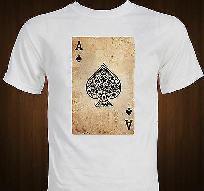 Ace of Spades playing cards Poker T-shirt