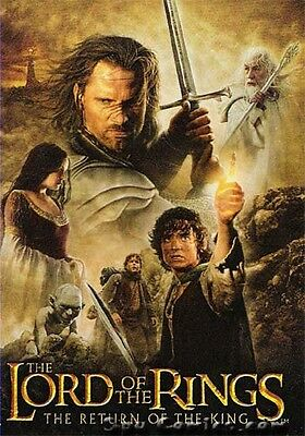 Lord Of The Rings Lotr Return Of King Update Complete 72 Card Base Set + Wrapper