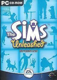 Maxis The Sims Unleashed New sealed PC game DVD-ROM pets expansion pack
