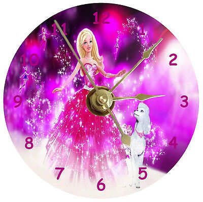 NEW Barbie With Dog CD Clock