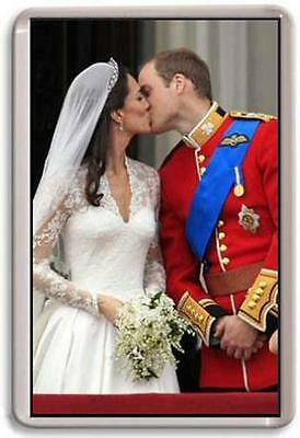William and Kate Fridge Magnet #3 royal wedding