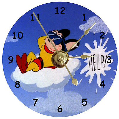 NEW Mighty Mouse On Cloud CD Clock