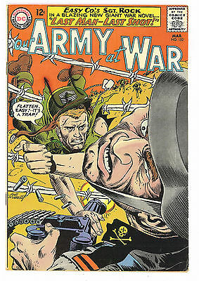 Our Army at War #152, DC Comics 1965 Kubert FN/VF