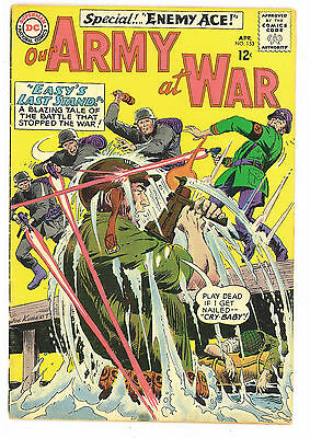 Our Army at War #153, DC Comics 1965 Kubert  2nd Enemy Ace FN-