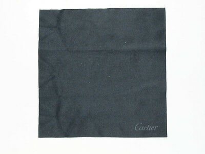 Cartier Pezzolina Microfibra Microfiber Black Nero Sunglasses Cleaning Clothes