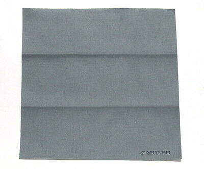 Cartier Pezzolina Microfibra Microfiber Grey Grigio Sunglasses Cleaning Clothes