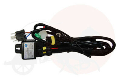Bi-Xenon HID Relay Wiring Harness for H4 H/L Bulb Type
