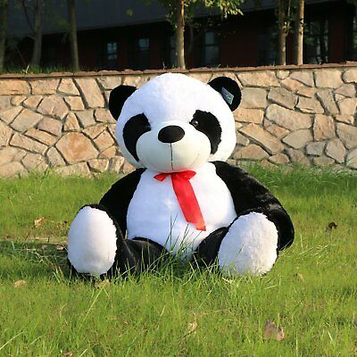 "Giant Huge Big 63"" Panda Bear Stuffed Plush Animal Toy Valentine Gift"