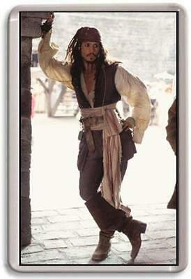 Johny Depp Jack Sparrow Fridge Magnet 02