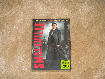 Smallville: The Complete Ninth Season DVD NEW SEALED