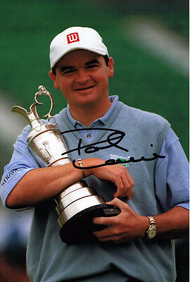 Paul Lawrie SIGNED Autograph '99 British Open Golf Champion 12x8 Photo AFTAL COA