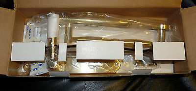 Front Door Entrance Access Lever Handles Gold Coloured Heavy Duty Brand New