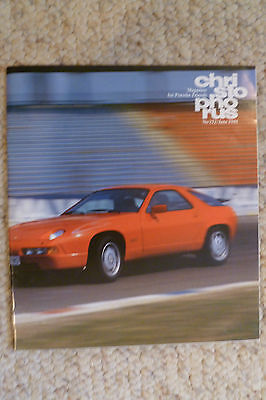 Porsche Christophorus Magazine English #212 July 1988 RARE!! Awesome L@@K