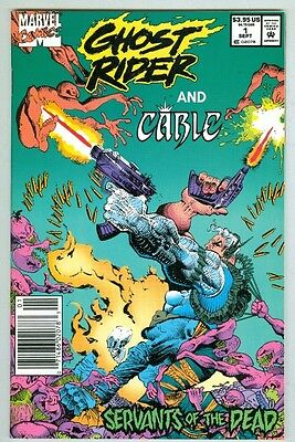 Ghost Rider and Cable #1 September 1992 VF/NM Servants of the Dead