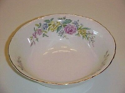 WS George China122B Floral Bouquet Round Vegetable Bowl