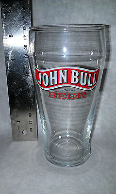 John Bull the Beer collectible Beer Glass vintage new