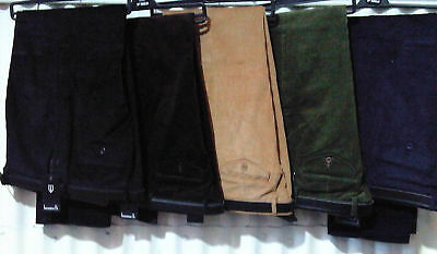 Brand New Smart Mens Cord Corduroy Trousers All Sizes Cotton 30 - 54 Waist Cords