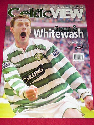 CELTIC VIEW - GREEN & WHITEWASH - May 12 2004 Vol 39  # 43