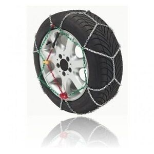 Pair DLPASC100 Artic 9mm Snow Chains 215/60/16 215/65/15 Great Price New *