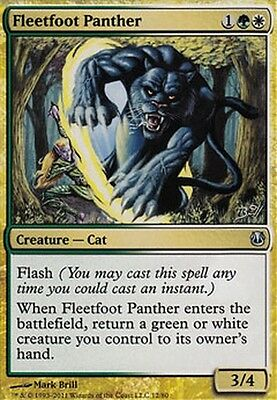 Urborg Panther ▼▲▼ 4x Panthère d/'Urborg MIRAGE #150 FRENCH Magic MTG