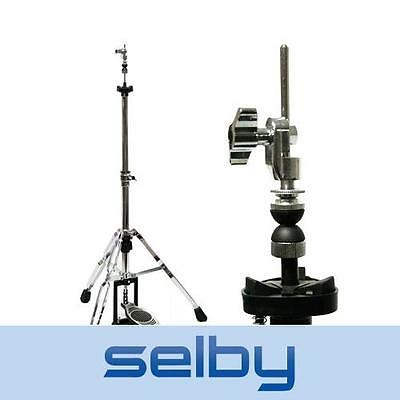 Selby Pro Hi-Hat High Hat Cymbal Stand Double Braced Legs