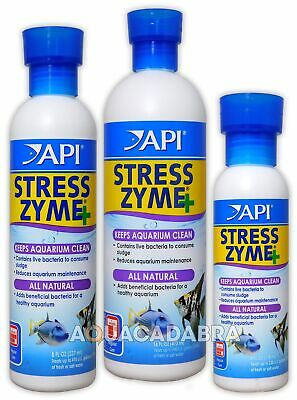 Api Stress Zyme Water Live Bacteria Filter Booster Treatment Aquarium Fish Tank