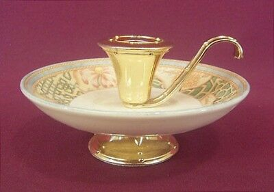 Wedgwood Garden Maze Colonial Candle Holder - New