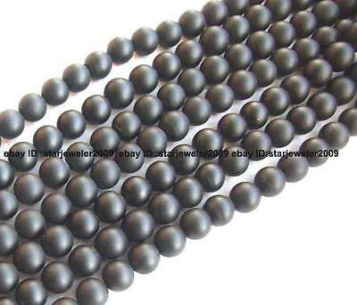"""4mm,6mm,8mm,10mm,12mm,14mm Natural Onyx rough round Gemstone Beads 15"""""""