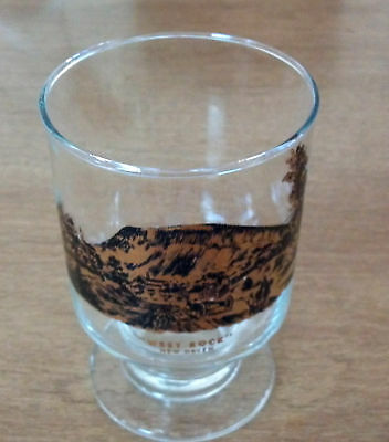 West Rock New Haven CT Extremely Rare Collectors Glass