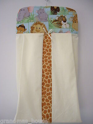 Jungle Babies Nappy Diaper Stacker