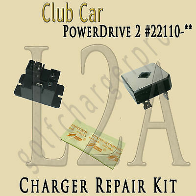 CLUB CAR GOLF CAR CART POWERDRIVE 2 CHARGER REPAIR KIT MODEL 22110 LEVEL 2a