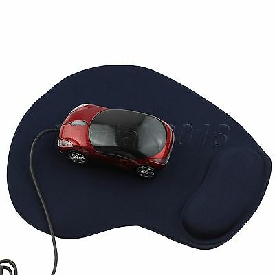 New Wrist Comfort Mice Pad Mat Mousepad for Optical or Trackball Mouse